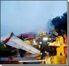 Пассажирский самолет врезался в дом