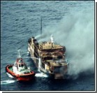 Пожар на судне. Капитан пропал без вести