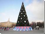В Воронеже начали разбирать главную городскую елку