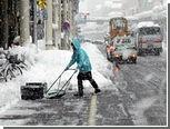 В Японии из-за снегопадов погибли более 100 человек