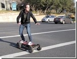 Нейрошлем задействовали для управления скейтбордом