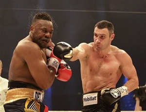 Дерек Чисора заработал 450 тысяч фунтов за бой с Виталием Кличко