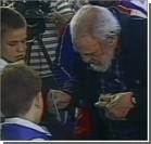 По телевидению показали, как Фидель Кастро голосует