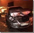 В столице столкнулись восемь автомобилей