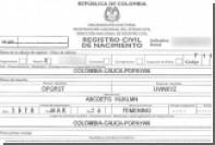 Жительница Колумбии сменила имя на Abcdefg Hijklmn Opqrst Uvwxyz