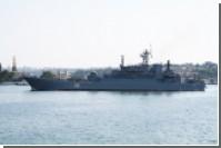 Корабли ВМФ вошли в Средиземное море