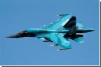 Су-34 разбомбили колонны военной техники