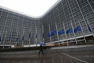 Словак пришел на разговор с президентом Евросоюза с бензопилой