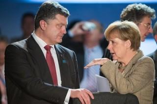 Порошенко, Олланд и Меркель исключили условия для переговоров в Минске