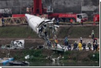 Авиаэксперты сообщили об отказе двигателей разбившегося на Тайване самолета