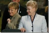 Президент Литвы рассказала о своей вере в Меркель