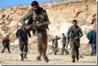 США и Турция договорились о подготовке боевиков сирийской оппозиции
