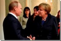 Меркель выразила готовность строить мир в Европе вместе с Россией
