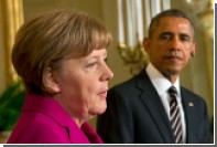 Обама договорился с Меркель сохранить антироссийские санкции