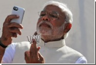 В Индии появились селфи-автоматы с премьером