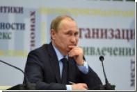 Путин возложил вину за украинский кризис на США