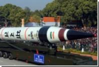 В Индии произведен успешный запуск баллистической ракеты «Агни-5»