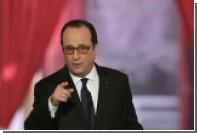Олланд назвал альтернативу мирному урегулированию в Донбассе