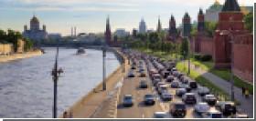 Москва вошла в первую пятерку городов мира с самыми большими пробками