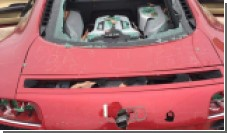 Жена разбила неверному мужу Audi R8