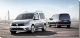 Volkswagen представил рестайлинговый Caddy