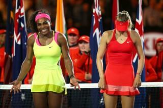 Шарапова проиграла Уильямс в финале Australian Open