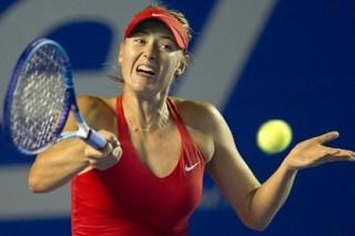 Шарапова снялась с турнира в Акапулько