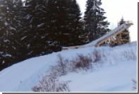 Кировчанин в одиночку построил 20-метровый трамплин для прыжков на лыжах