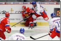 Сборная России всухую проиграла Чехии в матче Евротура