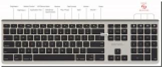 Kanex представила беспроводную клавиатуру для iOS и Mac с одновременным подключением до четырех устройств
