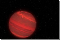 Hubble впервые измерил период вращения суперюпитера