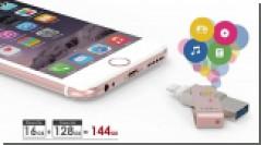 PQI iConnect - самый маленький и емкий накопитель для iPhone