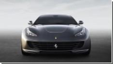 Новый суперкар от Ferrari - GTC4 Lusso