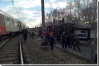 При сходе поезда с рельсов в Бельгии погиб человек