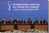 В Москве обозначили цель проведения новых переговоров по Сирии в Астане