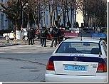 Приднестровские коммунисты пикетируют здание Тираспольского УВД с требованием освободить их лидеров