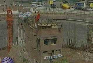 Китайцы протестуют против сноса своих домов