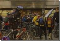 В Киеве велосипедисты пикетировали Генпрокуратуру
