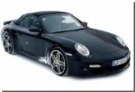 Появились шпионские фото кабриолета Porsche 911 Turbo 2008