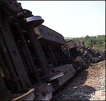 В Греции поезд сошел с рельсов