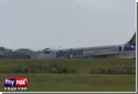В Орландо сел самолет со сломанным шасси