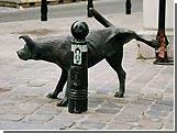 """В столице Бельгии украден символ города - """"Писающая собака"""""""