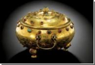 Редчайшую золотую чашу китайского императора продадут с аукциона