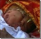 В Индии родилась двуликая богиня. Фото