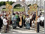 Православные Сум провели крестный ход против строительства греко-католического храма