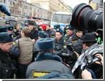 Задержания на Триумфальной начались еще до начала акции / Лимонова схватили одним из первых