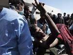 """Сторонники Каддафи обвинили повстанцев в использовании """"живых щитов"""""""