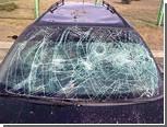 Нервный литовский водитель напал на собственную машину