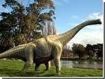 Выяснено назначение длинной шеи гигантских динозавров