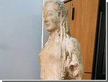 Греческая полиция отыскала античную статую в загоне для коз